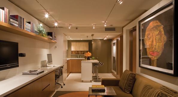Glen Ackerman's gorgeous apartment in Washington, DC