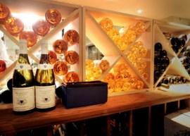 Citronelle's wine room