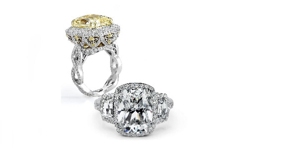 Gorgeous rings from the Beaudry Jewelry Collection.