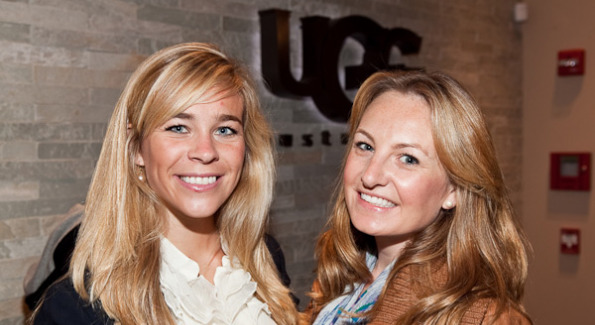 Keri Ann Meslar and Lauren Pomponio at the UGG Australia opening in Georgetown. Photo Courtesy of Fingerprint DC.