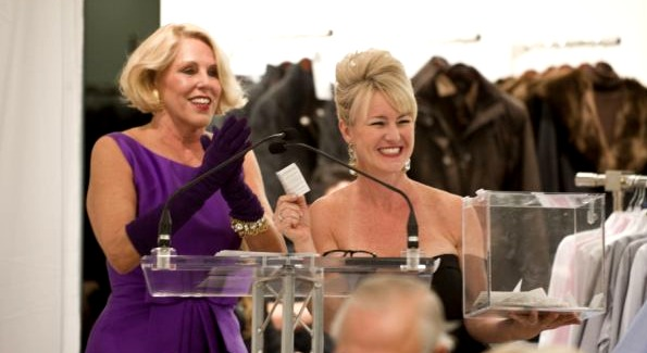 Event Co-Chairs Barbara McConaghy Johnson and Staci Capuano. Photo by Theo Kossenas.