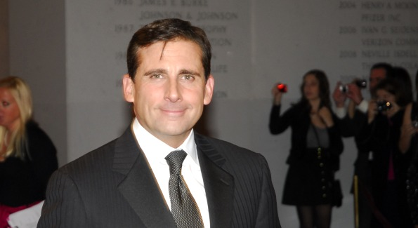 Actor Steve Carrell. Photo by Kyle Samperton.