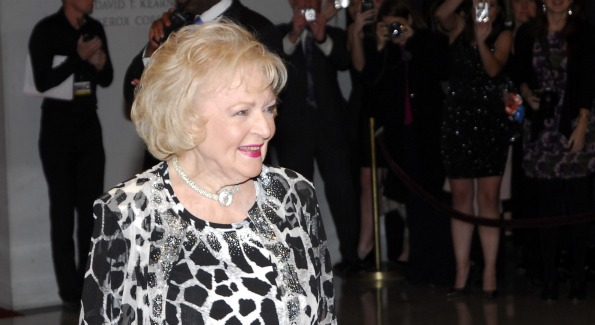Former Award Recipient, Actress Betty White. Photo by Kyle Samperton.