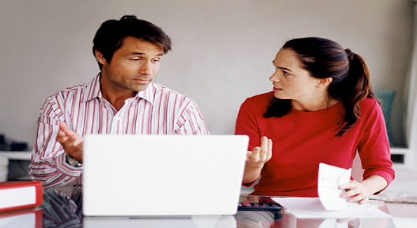 Men and women aren't on the same page with regard to the impact of the recession on their financial planning. Image Courtesy of Getty Images.