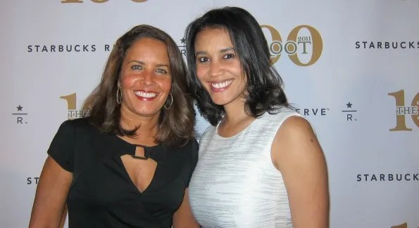 Suzanne Malveaux (News anchor, CNN) and Donna Byrd (Publisher, The Root). (Photo by)