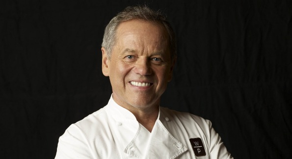 Wolfgang Puck, owner and chef of D.C.'s The Source. Photo by Amanda Marsalis.