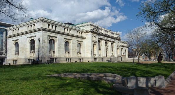 Carnegie Library at Mt. Vernon Square.