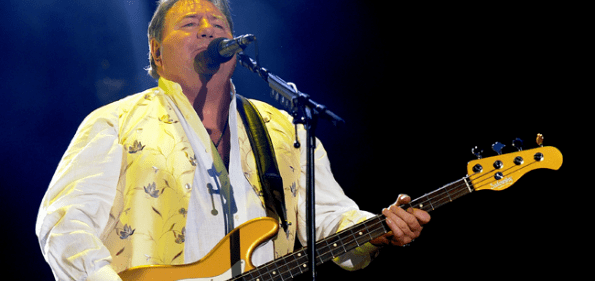 Musician Greg Lake. (Photo courtesy of Steve Houk)