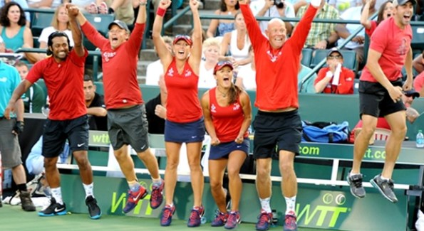 The Washington Kastles 2012