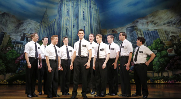 """The Book of Mormon"" at the Kennedy Center. (Photo by xxxxxxxxxxxxxx)"