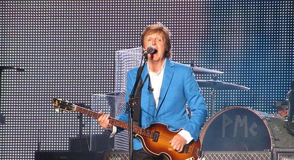 Paul McCartney's Nats Park show included classics and lesser-known gems (Photo by Eduardo xxxxxxxxxx)