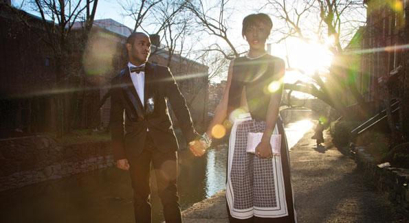 Reese Ahmaad and Eryn Fullard for THE Artist Agency. (Photo by M. Holden Warren)