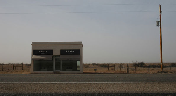 Prada Marfa (Photo by informedmindstravel via Flickr)