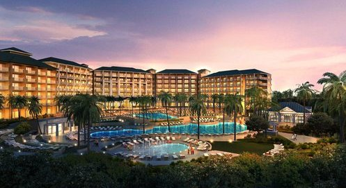 The 1,385-acre resort just completed $85 million in upgrades and refurbishments. (Courtesy Photo)