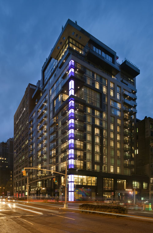 The Gansevoort Park Avenue is located in the heart of the NoMad district.