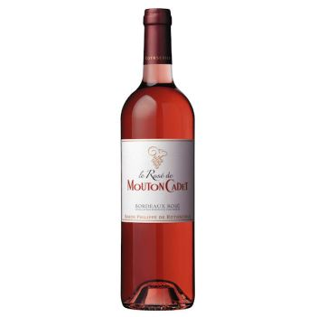 Le Rosé de Mouton Cadet is a great budget option. Photo courtesy Mouton Cadet.