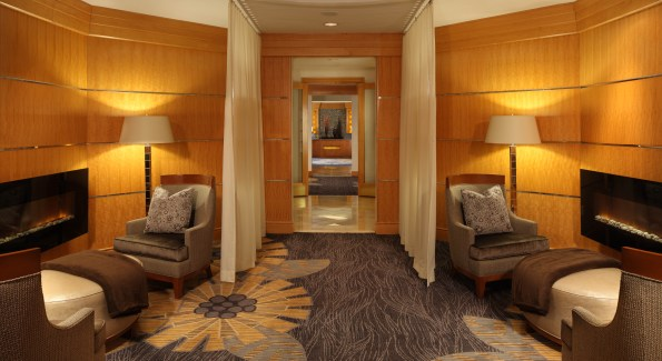 The resort features a full service spa and salon with body, hair and nail services. Photo courtesy the Hyatt Chesapeake.