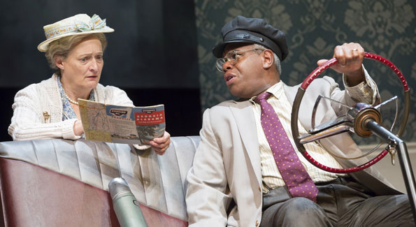 Nancy Robinette as Daisy and Craig Wallace in 'Driving Miss Daisy' at Ford's. (Photo by Scott Suchman)
