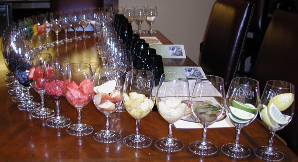 Bell Wine Cellars' Sensory Experience lets wine lovers learn about the aromas and flavors in wine. Photo courtesy of Bell Wine Cellars.