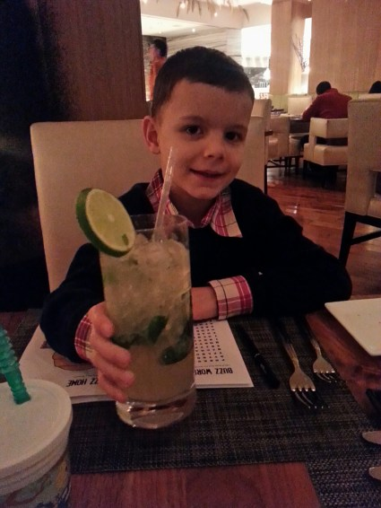 Ryan and his No-Jito. Photo courtesy of Kelly Magyarics.