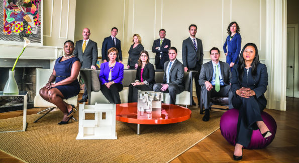 The Beasley Real Estate Team (Photo by Craig Steinberg)