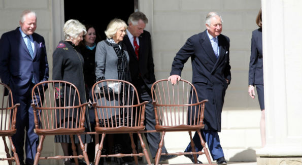 Prince Charles at Mount Vernon (Photo by John Arundel)
