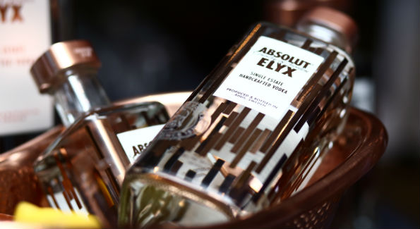 Absolut ELYX (Photo by Tony Powell)