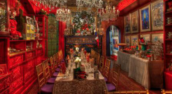 One of the Mansion's themed dining rooms (Photo courtesy The Washington Center)
