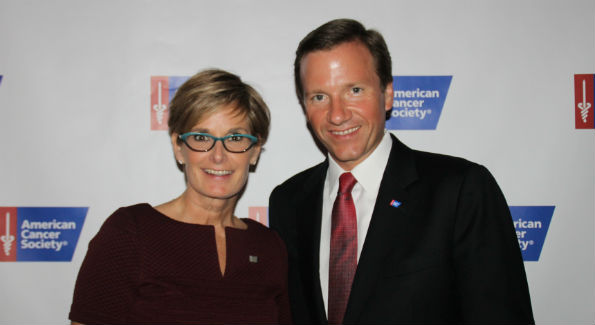 Shari Henning & Michael Marquardt at the Campaign Against Cancer Gala on November 4 (photo by Catherine Trifiletti)