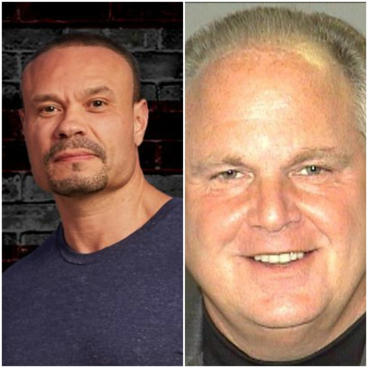 Dan Bongino and Rush Limbaugh