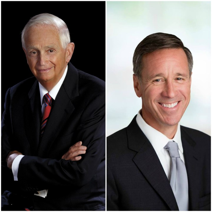 J.W. Bill Marriott and Arne Sorenson