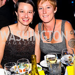 Photo by Tony Powell. Jennifer Berg, Erin Proctor. 14th Annual HRC Dinner. October 9, 2010
