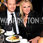 Photo by Tony Powell. Nick Schmit, Liza Ballantine. 14th Annual HRC Dinner. October 9, 2010
