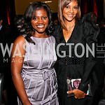 Photo by Tony Powell. Aba Kwawu, Tracy Wilson Mourning. Angels in Adoption Gala. Reagan Building. October 6, 2010