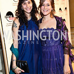 Photo by Tony Powell. Laura and Carrie Shiffrin. Arena Stage Opening Gala Celebration. Mead Center. October 25, 2010