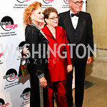 Photo by Tony Powell. Judy Lynn Prince, Molly Smith, Bob Haiman. Arena Stage Opening Gala Celebration. Mead Center. October 25, 2010