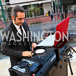 "Photo by Tony Powell. ""DJ to the White House"" Donald Syriani. Fed Talks 2010. Harman Center. October 12, 2010"