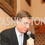 Photo by Alfredo Flores. Mark Warner . An International Evening of Excellence In Honor of Global Kids in D.C. at the Residence of the French Ambassador. December 12, 2010