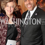 Photo by Alfredo Flores. Caroline Artigiani Tony Miller. An International Evening of Excellence In Honor of Global Kids in D.C. at the Residence of the French Ambassador. December 12, 2010