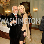 Ahmad Esfandiary, Michaele Salahi. Supporters unite to confront the global trafficking in women and children at the Belgian Embassy in Washington, DC on Wednesday, June 19, 2008.  (James R. ...