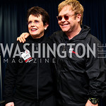 Photo by Tony Powell. Billie Jean King, Sir Elton John. WTT VIP Reception with Elton John. Bender Arena. November 15, 2010