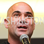 Photo by Tony Powell. Andre Agassi. WTT VIP Reception with Elton John. Bender Arena. November 15, 2010