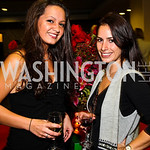 Photo by Tony Powell. Fran Holuba, Kristen Thorne. WTT VIP Reception with Elton John. Bender Arena. November 15, 2010