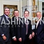Photo by Tony Powell. Bud Wilkinson, Chad MacDonald, Bill Reilly, Mike Esposito. Wings of Hope Gala. Trump Golf Club. November 6, 2010
