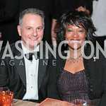 Kenneth Weinstein, Rita Dove. National Medal of Arts and Humanities Dinner. National Museum of the American Indian. February 12, 2012. Photo by Alfredo Flores