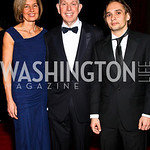 Claudette Donlon, Michael Kaiser, Bryan MacDonald. Kennedy Center Spring Gala. Photo by Tony Powell. April 3, 2011