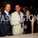 Seth Pietras,Matt Lauer,Samantha Sault.Events DC Launch Event At SAX Restaurant,June 22,2011,Kyle Samperton