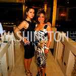 Athena Romaine,Gina Darouni,Events DC Launch Event At SAX Restaurant,June 22,2011,Kyle Samperton