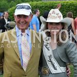 Chairman Will Allison & Miss Rodeo Virginia Dakota Monroe