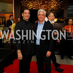 Tom Elder, Keith Clampett, Grand Opening of Harth Restaurant, April 27, 2011, Kyle Samperton
